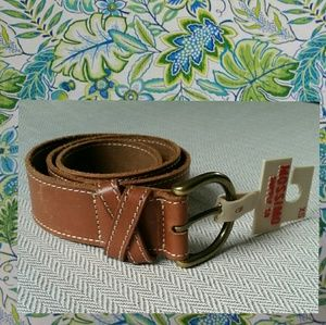 Mossimo  XS Leather Belt NWT